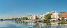 Panoramic Image Of Paris Moder...
