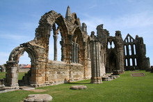 Church Ruins In Europe