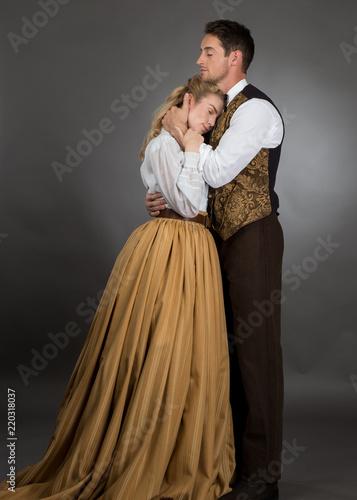 Tela Historical Western Couple