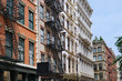 Manhattan, Cast Iron buildings in the SoHo district
