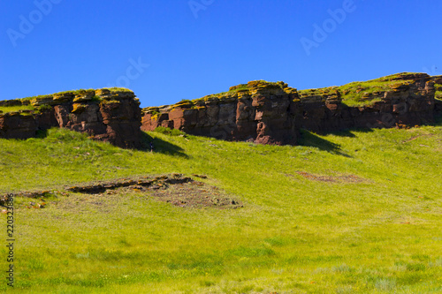 Foto op Canvas Pistache the chests in the Republic of Khakassia