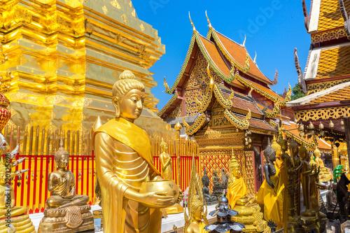 In de dag Temple Wat Phra That Doi Suthep in Chiang Mai