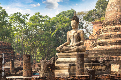 Sukhothai historical park Wallpaper Mural