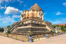 Wat Chedi Luang Temple In Chia...