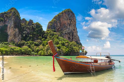 Fototapety, obrazy: Railay Beach, Krabi, Thailand