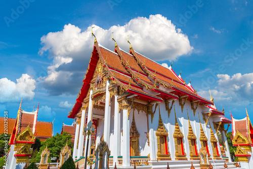 Deurstickers Bedehuis Wat Chalong temple in Phuket