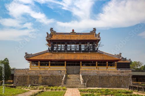 Fotografia Imperial Royal Palace in Hue, Vietnam