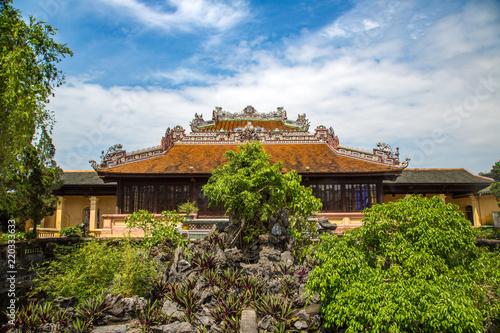 Obraz na płótnie Imperial Royal Palace in Hue, Vietnam