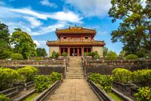 Minh Mang Tomb In Hue, Vietnam