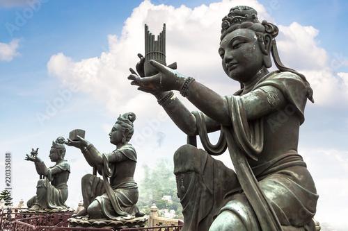 Giant Buddha in Hong Kong