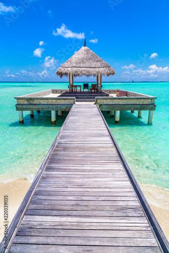 Fotografía  Water Villas (Bungalows) in the Maldives