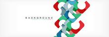 Colorful Squares Composition A...