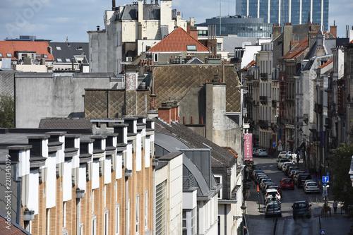 Fotografia, Obraz  immobilier toit logement habitation cadastre ville urbain vente achat pret notai