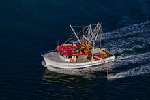 Fishing Trawler Heading Out To...