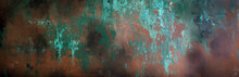 Rusty Metal Texture, Background, Design, Pattern, Long Banner
