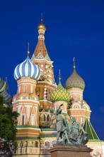 Evening, St. Basil's Cathedral...