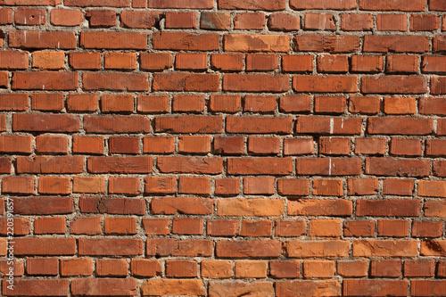 Foto op Plexiglas Wand close up on a bricks wall