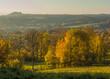 Bohemian Paradise Czech Republic, autumn landscape