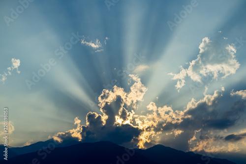 Fényképezés 夕暮れの光芒