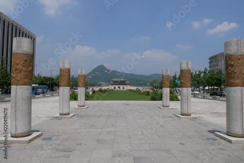 Statue de Séoul