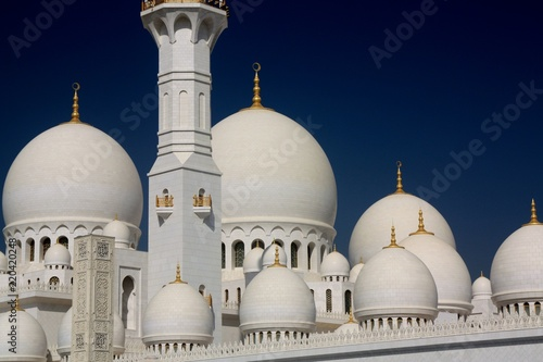 Deurstickers Abu Dhabi Mosquée d'Abu Dhabi