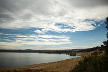 Folsom Lake On A Partly Cloudy...