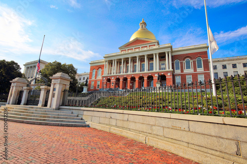 Photo Massachusetts State House in Boston