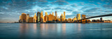 Fototapeta Nowy Jork - Manhattan Skyline in New York City, USA