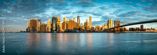 Fototapeta Manhattan Skyline in New York City, USA obraz