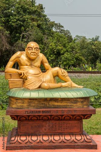 Fotografia  Buddhist Plantain Monk