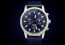 Men's Mechanical Watch On Dark...