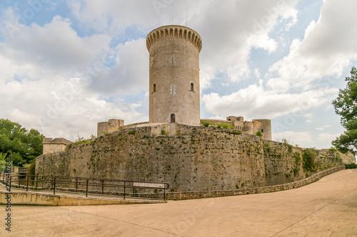 Keuken foto achterwand Kasteel Bellver's Castle in Palma de Maiorca