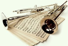 Trumpets And Vintage Notes Iso...