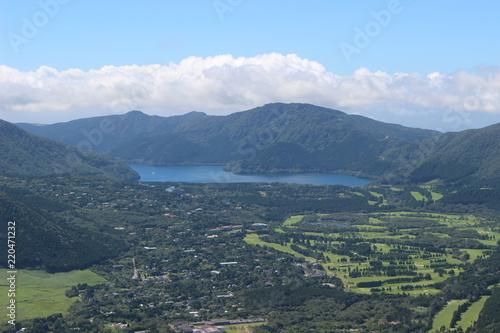Fotografie, Obraz  金時山からの眺望