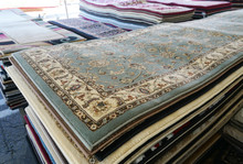 Close Up On Stacking Carpet Fo...