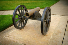 Replica Cannon On Display