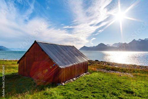 Staande foto Noord Europa Fienile Norvegia