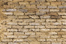 Texture Bricks Soil Wall Of Ea...