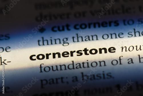 Slika na platnu cornerstone