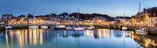 Padstow Harbour At Dusk, Cornw...