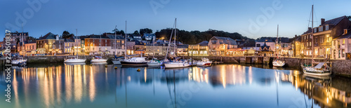 Photo  Padstow Harbour at Dusk, Cornwall