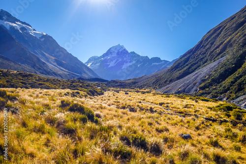 Spoed Foto op Canvas Oceanië Aoraki Mount Cook, New Zealand