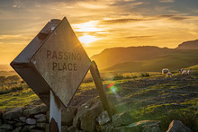 Sign: Passing Place - With Som...