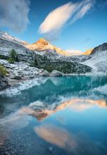 Sorapis Lake In The Dolomite A...