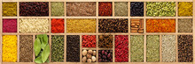 Spices And Herbs For Cooking D...