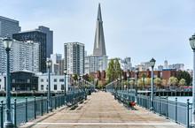 Pier 7 In San Francisco, California, USA