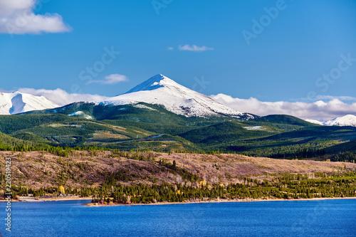 Poster Verenigde Staten Dillon Reservoir and Swan Mountain. Rocky Mountains, Colorado