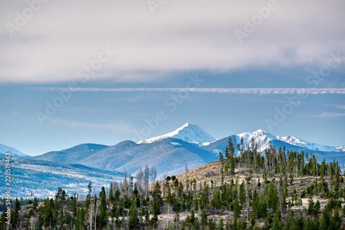 Poster Verenigde Staten Rocky Mountains, Colorado, USA