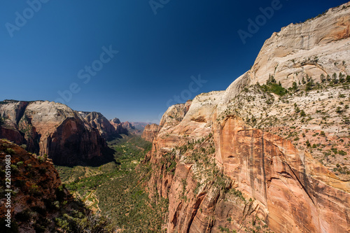 Poster Verenigde Staten Landscape in Zion National Park