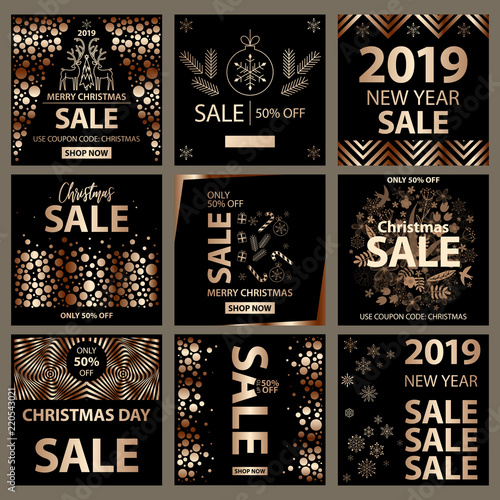 end of season sale banner poster flyer vector clearance on